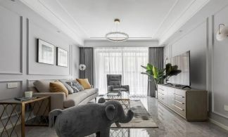 2021簡歐110平米裝修設計 2021簡歐套房設計圖片