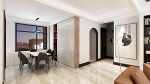 2021簡約150平米效果圖 2021簡約三居室裝修設計圖片