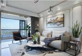 2021現代150平米效果圖 2021現代三居室裝修設計圖片