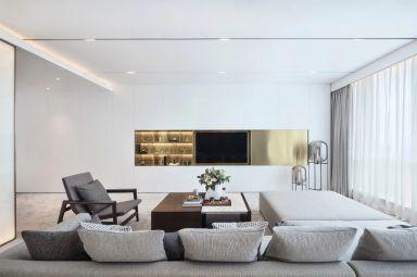 2021简约110平米装修设计 2021简约四居室装修图