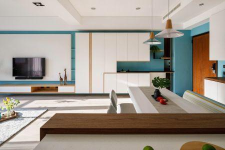 2021北欧150平米效果图 2021北欧公寓装修设计