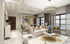 2021现代150平米效果图 2021现代四居室装修图