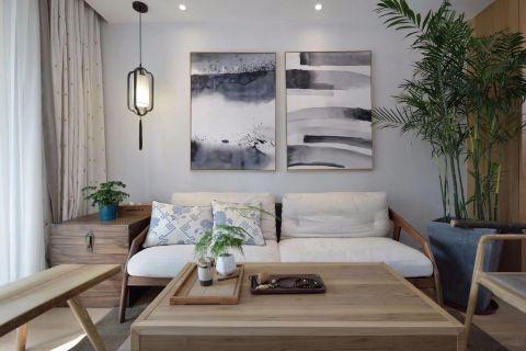2021新中式客厅装修设计 2021新中式茶几效果图