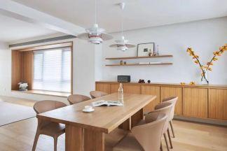 2021日式110平米裝修設計 2021日式三居室裝修設計圖片