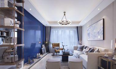 2021中式110平米裝修設計 2021中式套房設計圖片