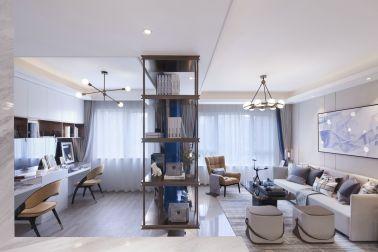 2021田園110平米裝修設計 2021田園二居室裝修設計