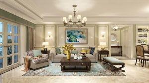 2021簡歐150平米效果圖 2021簡歐三居室裝修設計圖片