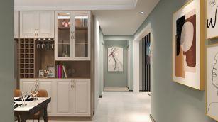 2021簡約110平米裝修設計 2021簡約三居室裝修設計圖片
