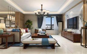 2021中式古典110平米装修设计 2021中式古典三居室装修设计图片