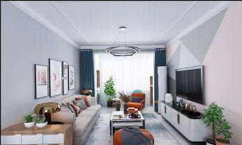 2021欧式90平米装饰设计 2021欧式三居室装修设计图片