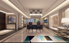 2021现代中式150平米效果图 2021现代中式大户型装修图片