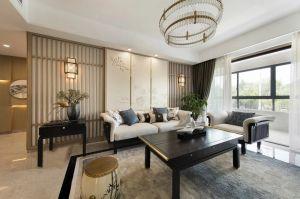 2021新中式110平米装修设计 2021新中式三居室装修设计图片
