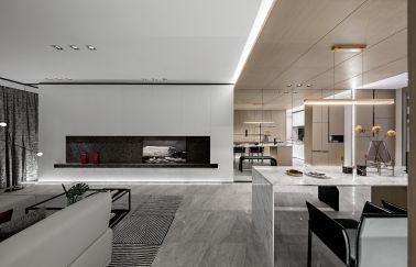 2021简约110平米装修设计 2021简约二居室装修设计