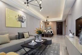2021现代110平米装修设计 2021现代三居室装修设计图片