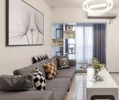 2021現代簡約90平米裝飾設計 2021現代簡約二居室裝修設計
