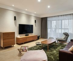 2021簡單110平米裝修設計 2021簡單三居室裝修設計圖片