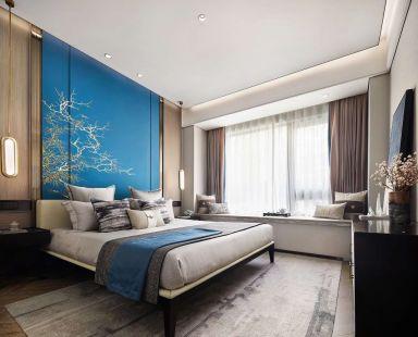 2021中式150平米效果图 2021中式四居室装修图