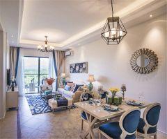 2021地中海90平米裝飾設計 2021地中海二居室裝修設計