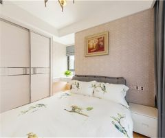 2021美式90平米裝飾設計 2021美式三居室裝修設計圖片