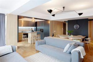 2020现代简约70平米设计图片 2020现代简约套房设计图片