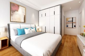 2020美式110平米裝修設計 2020美式三居室裝修設計圖片