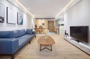 2020現代簡約90平米裝飾設計 2020現代簡約套房設計圖片
