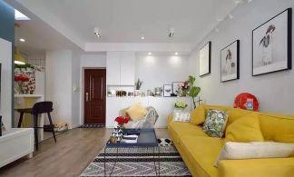 2020現代簡約70平米設計圖片 2020現代簡約二居室裝修設計