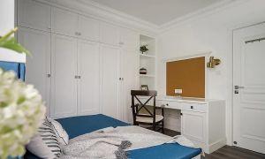 2021美式110平米裝修設計 2021美式三居室裝修設計圖片