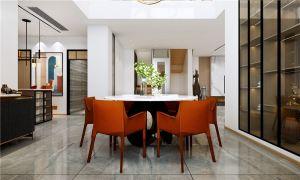 2021現代簡約240平米裝修圖片 2021現代簡約別墅裝飾設計