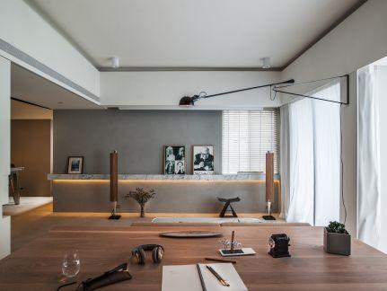 2021现代简约150平米效果图 2021现代简约公寓装修设计