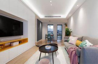 2021北歐70平米設計圖片 2021北歐三居室裝修設計圖片