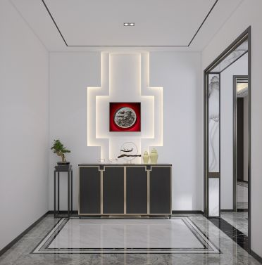 2021現代簡約300平米以上裝修效果圖片 2021現代簡約別墅裝飾設計