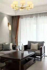 2021中式90平米裝飾設計 2021中式三居室裝修設計圖片