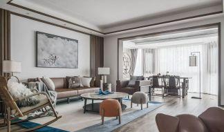 2021中式150平米效果圖 2021中式四居室裝修圖