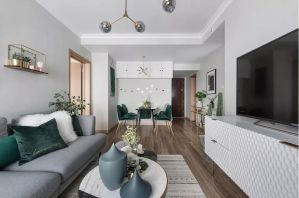 2020北歐70平米設計圖片 2020北歐二居室裝修設計
