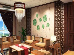 2020中式古典90平米裝飾設計 2020中式古典套房設計圖片