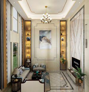 2020美式300平米以上裝修效果圖片 2020美式別墅裝飾設計
