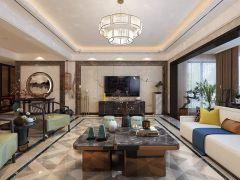 2021美式300平米以上裝修效果圖片 2021美式別墅裝飾設計