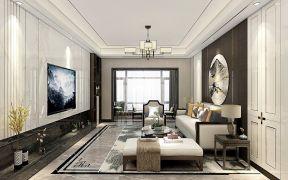 2021新中式150平米效果圖 2021新中式套房設計圖片