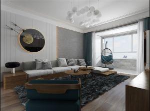 简约客厅北欧室内装修设计