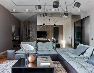 2021简约客厅装修设计 2021简约沙发装修图