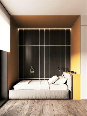 卧室床北欧装修