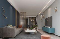 2021現代簡約90平米裝飾設計 2021現代簡約套房設計圖片