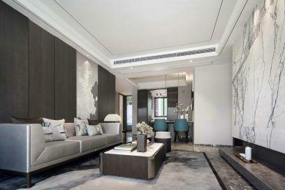 2021中式150平米效果圖 2021中式三居室裝修設計圖片