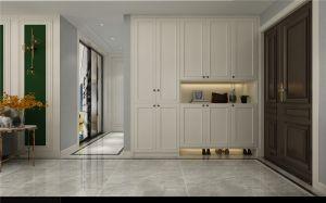 2021美式玄关图片 2021美式衣柜装修设计
