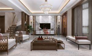 2021中式240平米裝修圖片 2021中式別墅裝飾設計