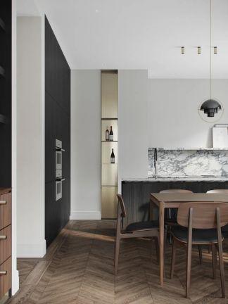 2021現代90平米裝飾設計 2021現代套房設計圖片