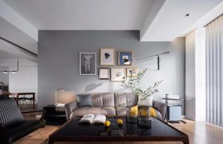 低调优雅现代白色床装修案例