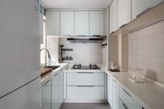 2021简约厨房装修图 2021简约灶台装修设计