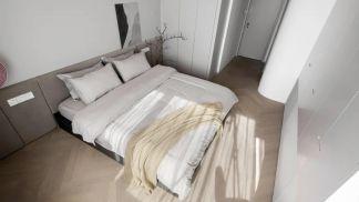 2021現代簡約110平米裝修設計 2021現代簡約套房設計圖片